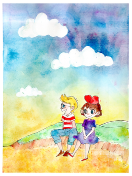 Kiki and Tombo by SofaMaker