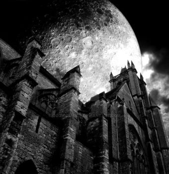 church of the full moon by Gothicmama