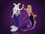 Thiefshipping mermaids by eeveelovestory5