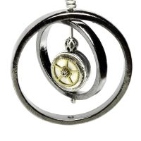 Cyber steampunk pendant by CatherinetteRings