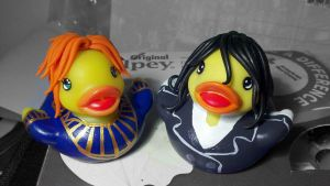 Rory and Reed Ducks by spongekitty