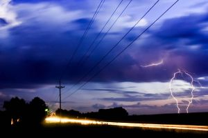 First Lightning Capture by yngasctmagfi