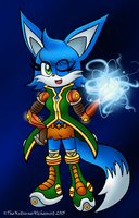Mobius Boom!verse: Kit the Fennec Fox by TheKitsuneAlchemist