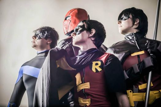 Sons of the Bat by StickandStoneCosplay