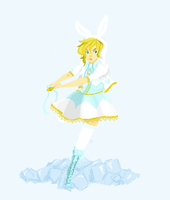 MAGICAL GIRL FIONNA by bluh-bluh-bitch