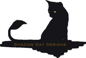 Shadow Cat Designs Logo by Demon-Fire-Wolf
