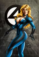 Sue Storm (colors) by FantasticMystery
