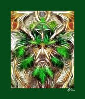 Greenman by The-Pagan-Gallery