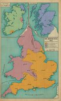 The British Isles, 1642 by edthomasten