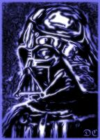 Darth Vader (digital variation) by David-c2011