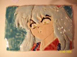 Ceramics Project 9 Tile by foxanime101