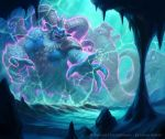 Hearthstone - Ice Cave Beast by namesjames