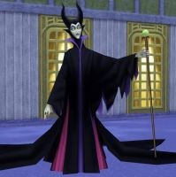 Maleficent for XNALara by LexaKiness