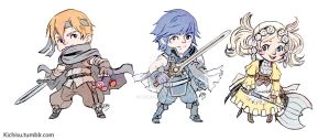 Fire Emblem Awakening Charms by kichisu