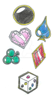 PRHoF: Power Emblems by The-One-True-Koneko