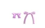 MMD Bows for backs of clothes by amiamy111