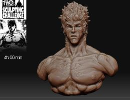 Kenshiro Speed Sculpt by nellemento