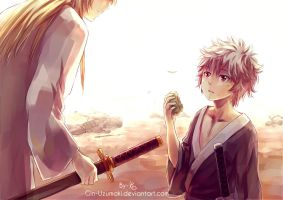 GINTAMA- the first time i see you by Gin-Uzumaki