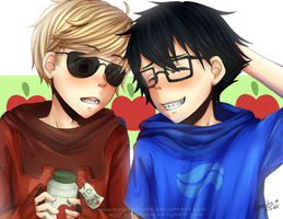 SS: john and dave by harukatsune