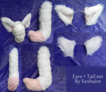 Ears and Tail - FOR SALE! by Xeshaire