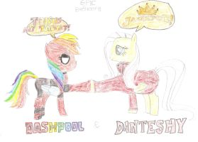 Epic Brohoof - Dashpool and Danteshy FINISHED by MariovsSonic2008