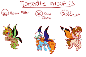 Doodle pony adopts adopts 13 CLOSED by Sarahostervig