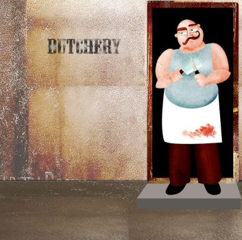 Mr butcher by noorathema