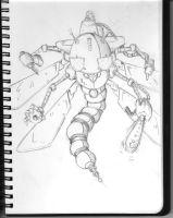 dragonfly robot by Larcyn11 by Robot-drawing-club