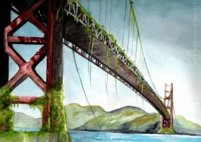 golden gate by joniina