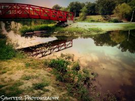 That Red Bridge by ShutterPhotography