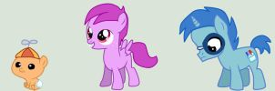 MLP HTF: Cub, Toothy, and Sniffles by HitTheCeiling