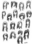 Girl Hairstyles by DNA-lily