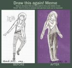 Draw this again meme by Yumi226