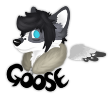 Goose headshot badge test by Rattus-Shannica