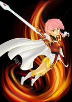 Hikaru - Magic Knight RayEarth by Gigabeto