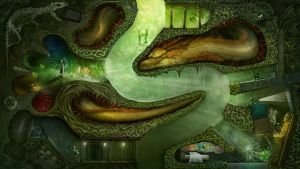 Artistic journey contest-Hidden dragon by longan2006