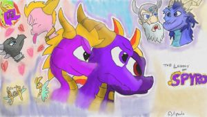 The Legacy of Spyro: 15th anniversary by AtomicPhoton