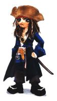 SD_Jack Sparrow by kappauka