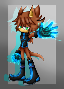 Hud the Porcupine by GuilleWolf