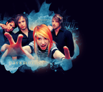 Paramore Layout by vintagevic