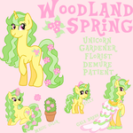 Woodland Spring Reference Sheet by Maddymoiselle