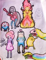 Adventure Time Characters by Wolfgrl13