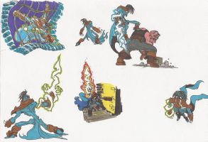 SOUL REAVER_2012doodles_04 by AlexBaxtheDarkSide