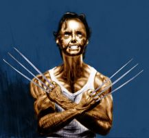 Wolverine remake. by Chiwitbu
