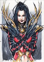 Lady Deathstrike by kathrynlayno by Akuma81