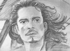 aceo  Will Turner Pirates of the Carribean by BethannNg