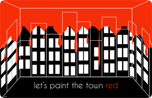 CE: Let's Paint The Town Red by leannetran