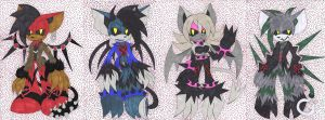 PC - Heartless Bats by TeaLadyC8LIN