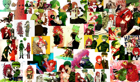 Flippy and Flaky collage by spacialcreek