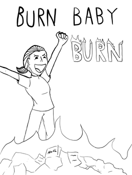 Day 28: burn by goombablood